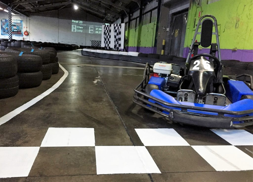 Sydneys Best Indoor Go Kart Racing Paintball Skirmish Field