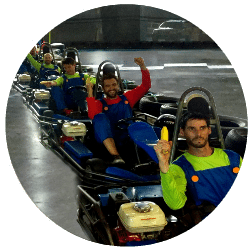 Sydney Bucks Party Go Kart & Paintball Packages